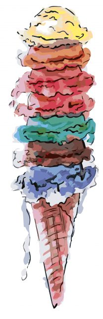 Pastelle IJs